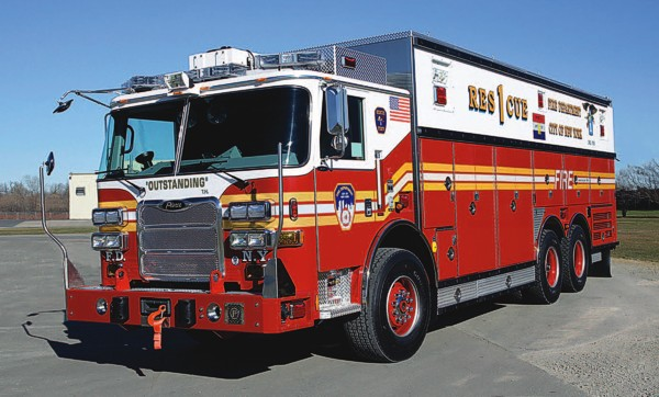 Truck Delivery for FDNY